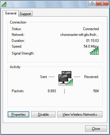 choromaster wifi
